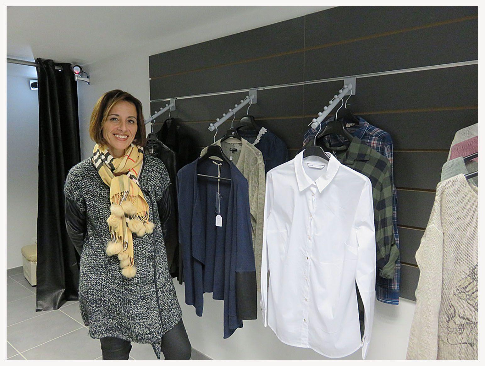 Saint André les Alpes : La boutique &quot&#x3B;Les fantaisies de Lilou&quot&#x3B; a déménagé à la Grand Rue