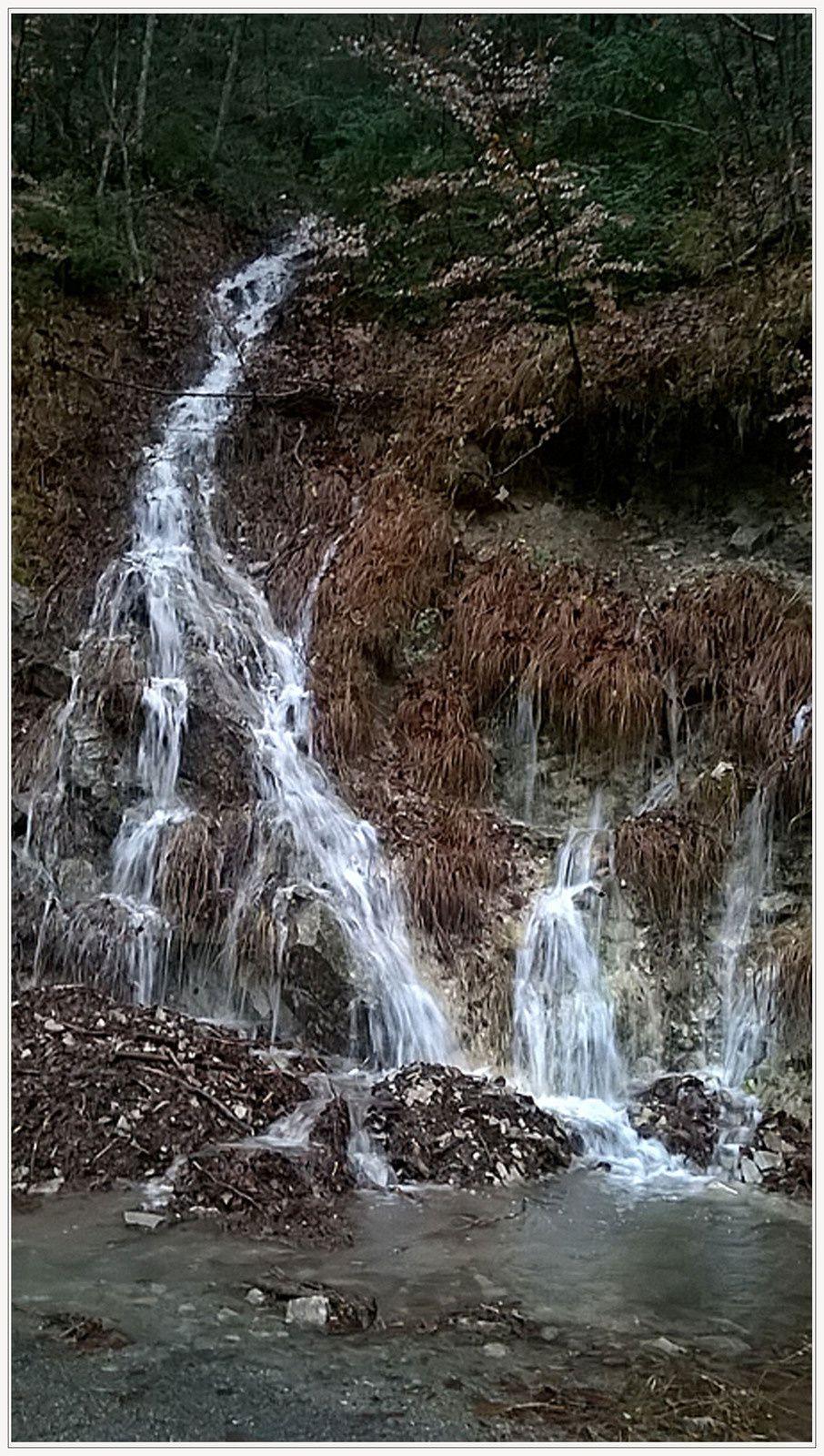 Val de Chalvagne  : les cascades étaient de sortie