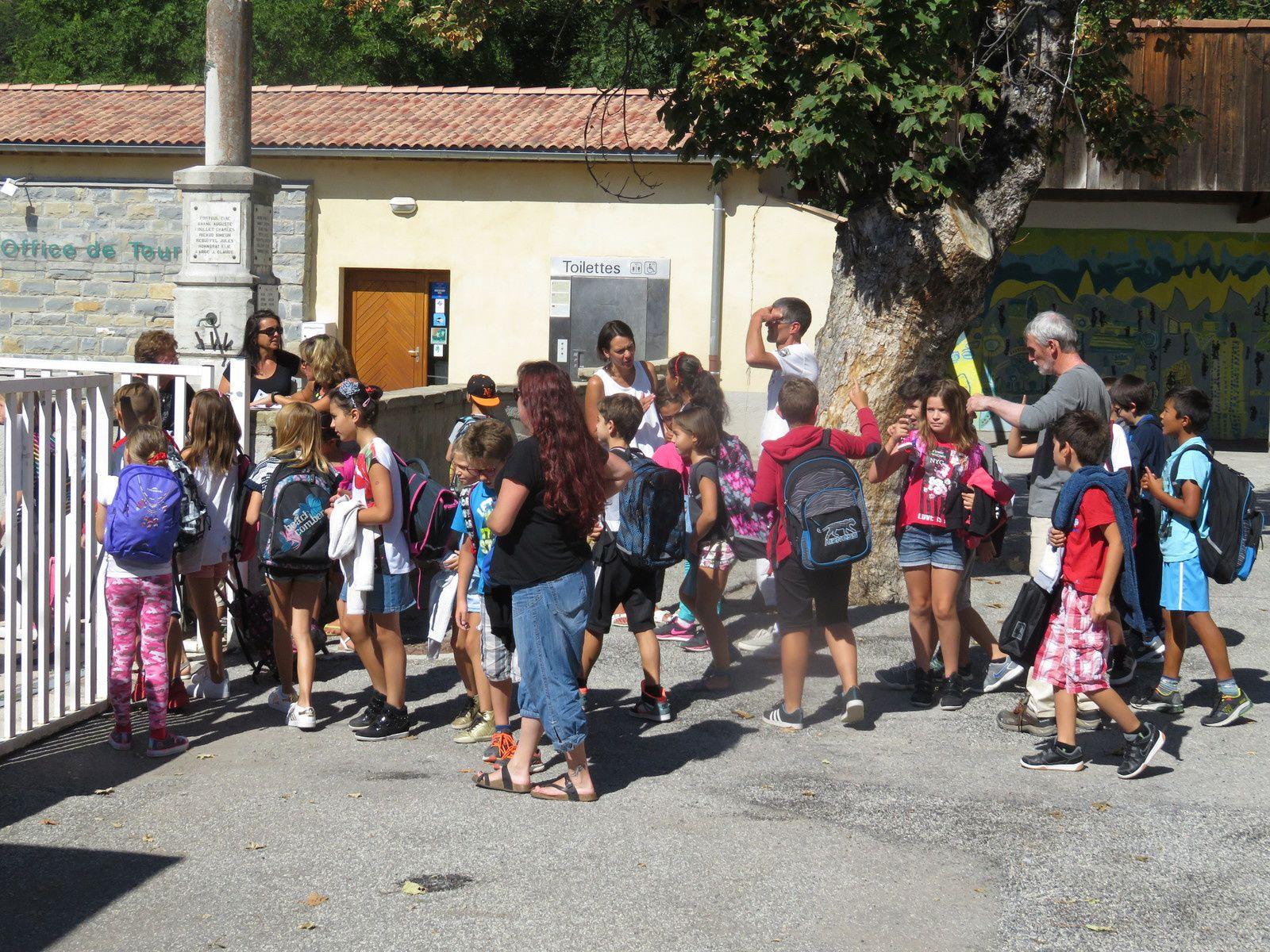 Saint André les Alpes : Les travaux de la crèche impactent les accès de l'école