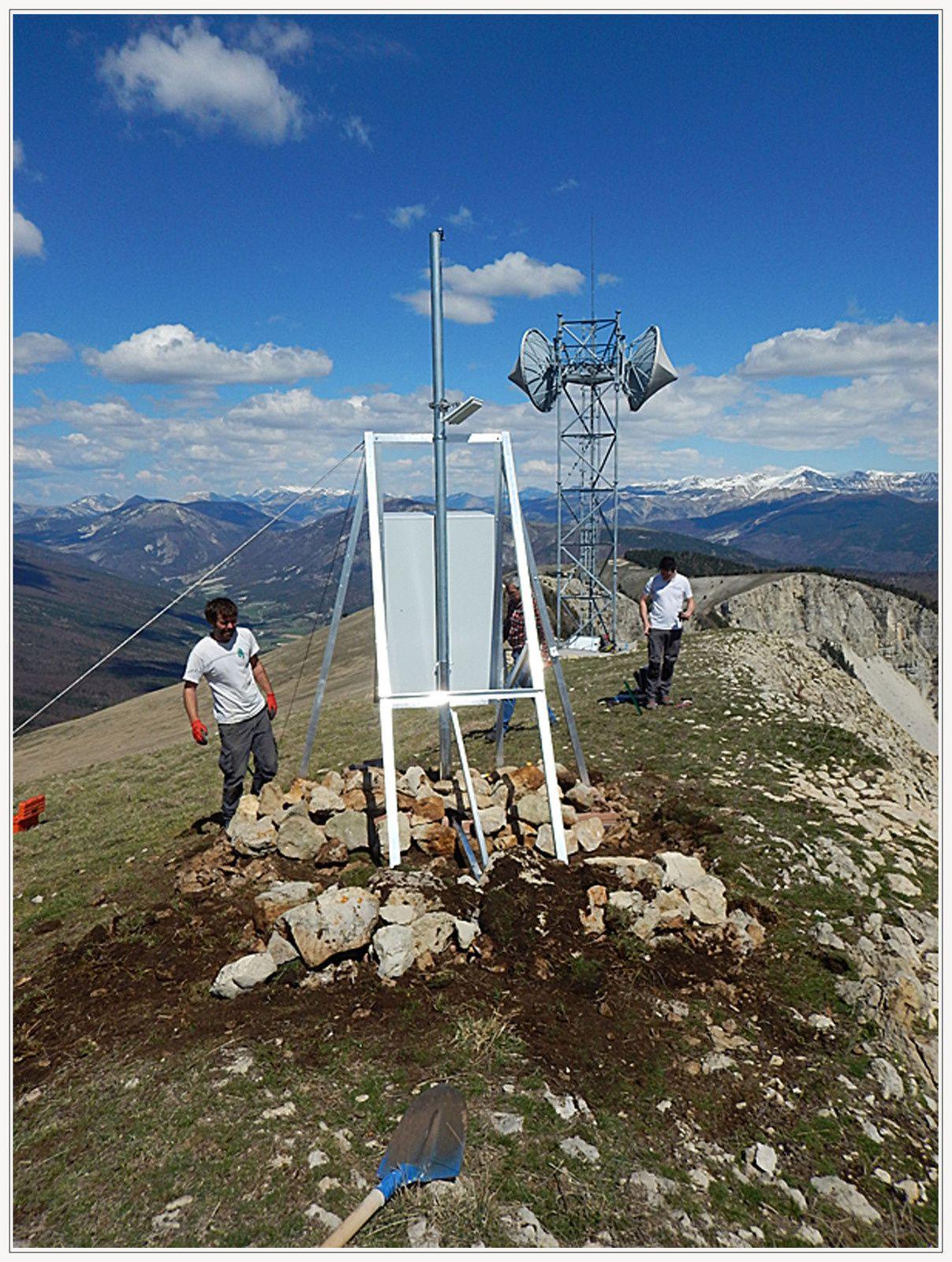 Un réseau radio sécuritépour le Verdon  L'installation du réseau se finalise en vue de la saison estivale