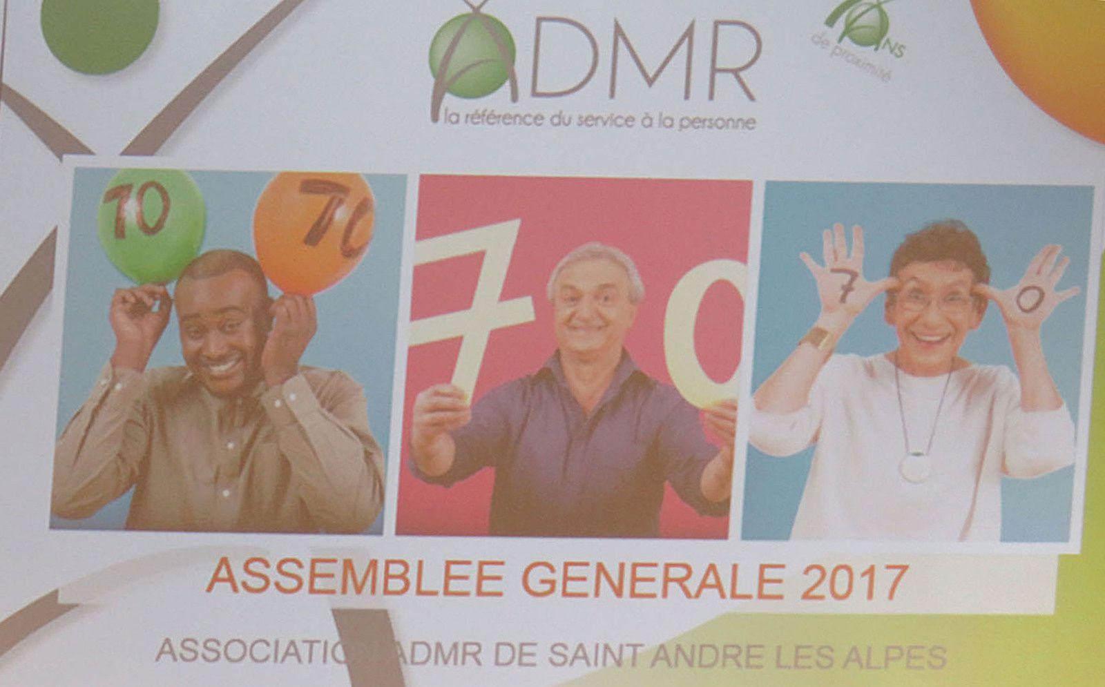 Saint André les Alpes : L'ADMR adopte le &quot&#x3B;Philia-Dom&quot&#x3B;