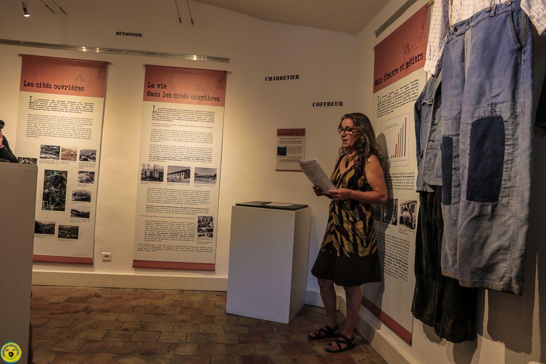 Inauguration de l'exposition &quot&#x3B;Histoire des Barrages &quot&#x3B; Les remerciements