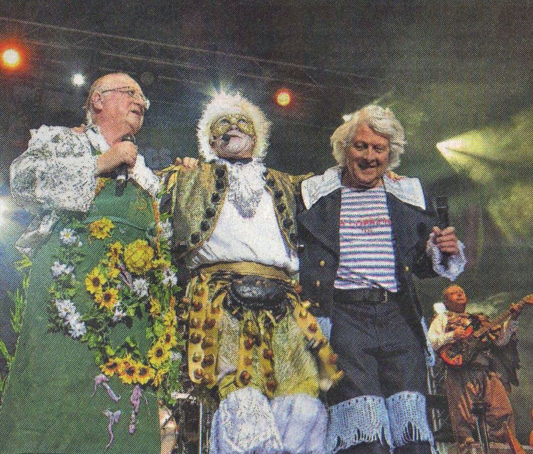 Les Tri Yann ont fait le show pendant deux heures auxquelles il faut rajouter deux rappels du public sous le charme ... - Photos NR