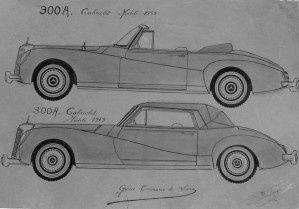 La 300S cabriolet 1952