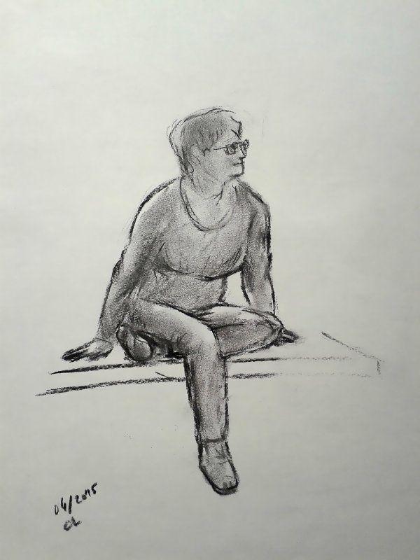 DESSINS divers au crayon