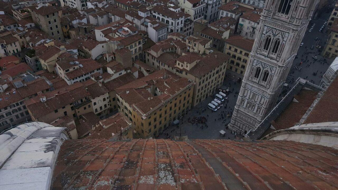 vue du DOME la ville semble plate mais se laisse découvrir aisément