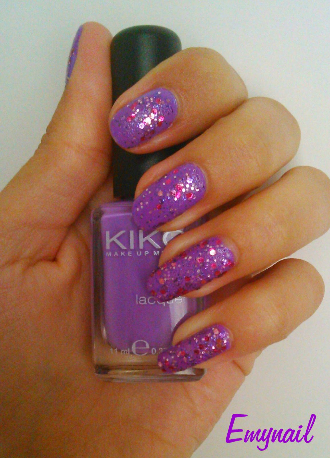 "Association du vernis : Kiko n°331 & OPI ""Blush Hour"""