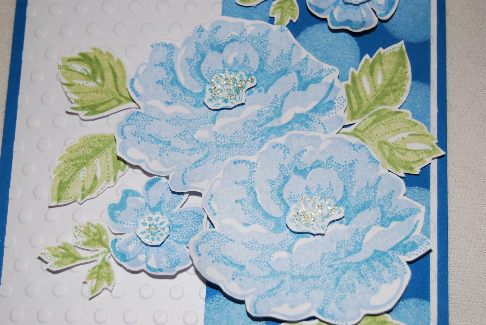 Des roses bleues ...