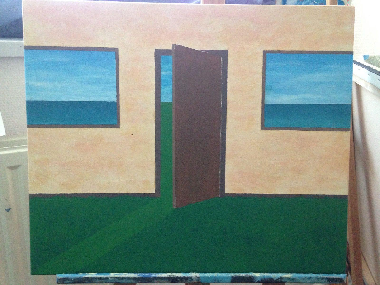 L'horizon à l'envers sur la figuration et construction de l'espace