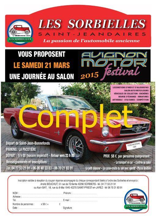 Sortie Avignon Motor Festival COMPLETE