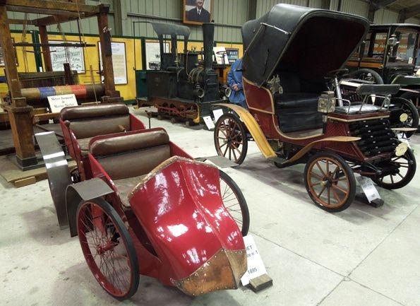 La première voiture construite par Marius BERLIET