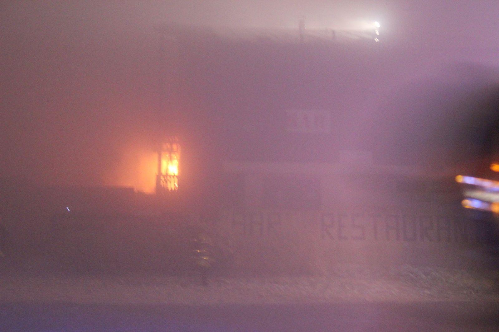 Incendie cette nuit à l'hôtel restaurant de La Loge des Gardes