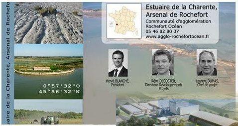 Estuaire de la Charente Grand Site de France : son incinérateur, son marais, ses oiseaux