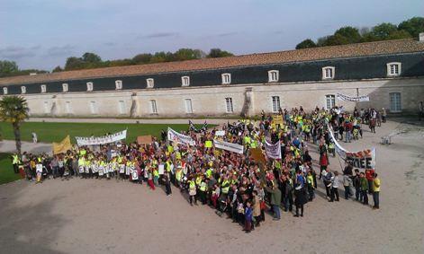 Le rassemblement du 11 octobre 2014 à Rochefort