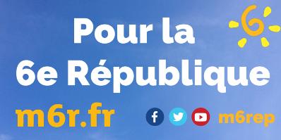 Parti de Gauche : &quot&#x3B; Avec la 6e République, reprenons vraiment le pouvoir ! &quot&#x3B;