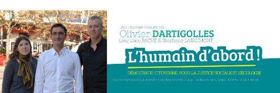28/11 - Rochefort (17) meeting avec Olivier Dartigolles tête de liste FdG aux élections régionales 2015, région (ALPC) Aquitaine - Limousin - Poitou/Charentes