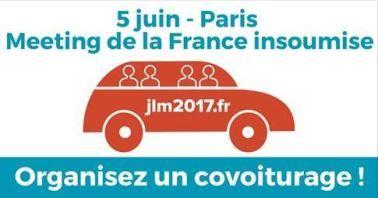 France insoumise... Retrouvons nous le 5 Juin à Paris !