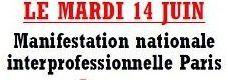A La Rochelle : le 26 mai on touche au capital, et le 14 juin tous à la Capitale!!!