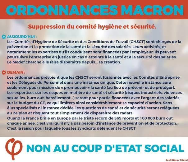 Le coup d'état social décortiqué par le texte et l'image