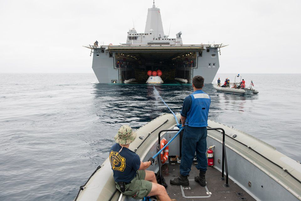 URT (Underway Recovery Test) 2: les images