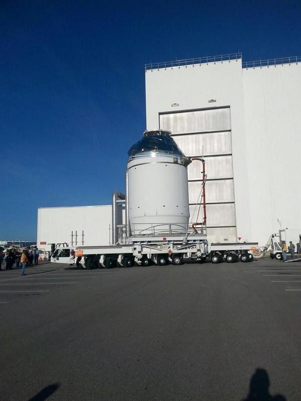 Transfert d'Orion de l'O&C B au PHSF.