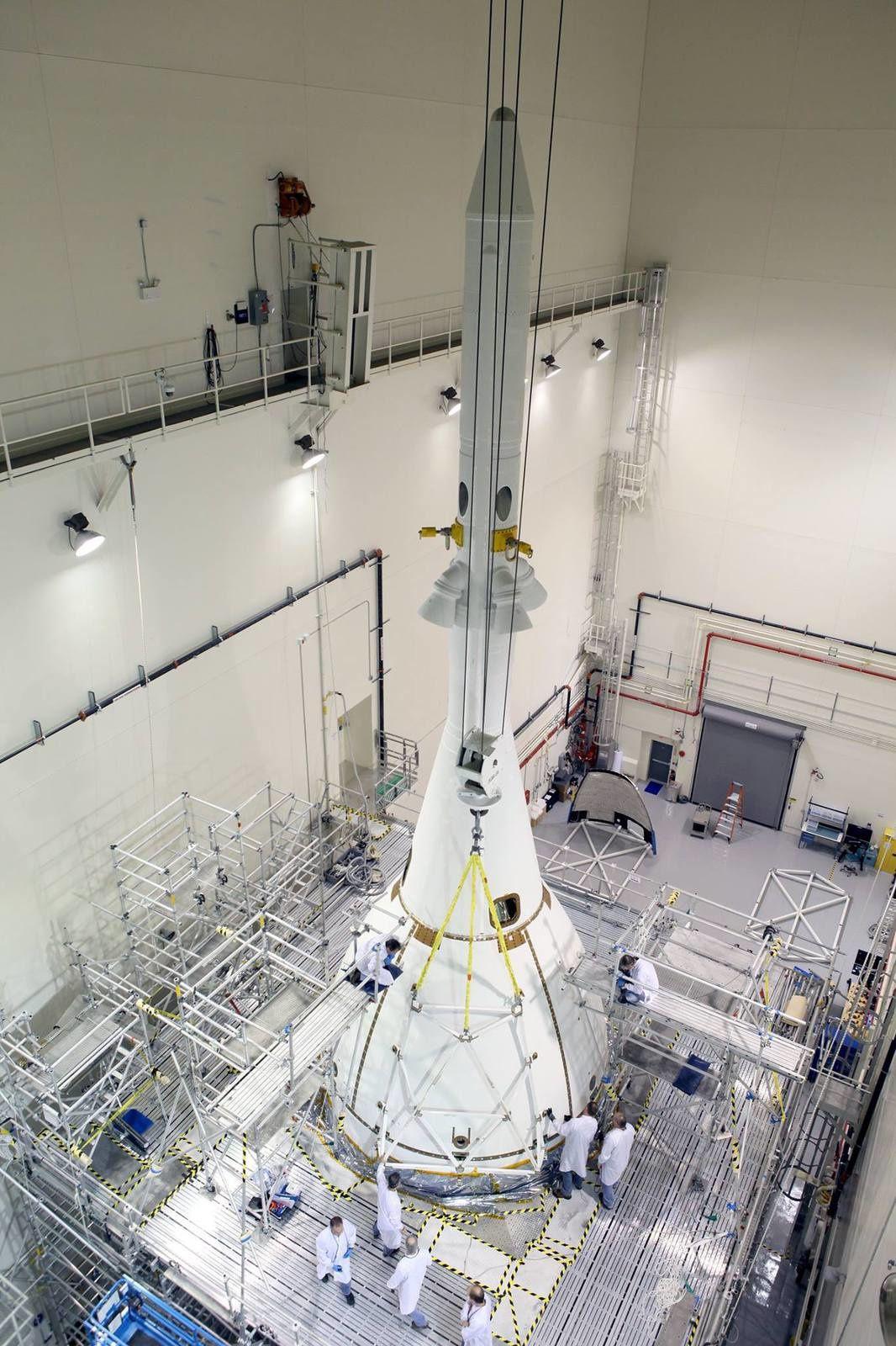 La dernière opération d'assemblage d'Orion est terminée.