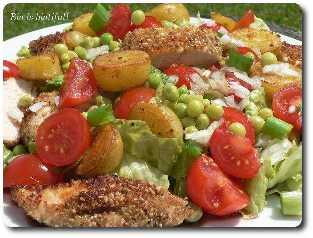 Salade d'été au sésame