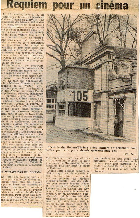 L'article de journal