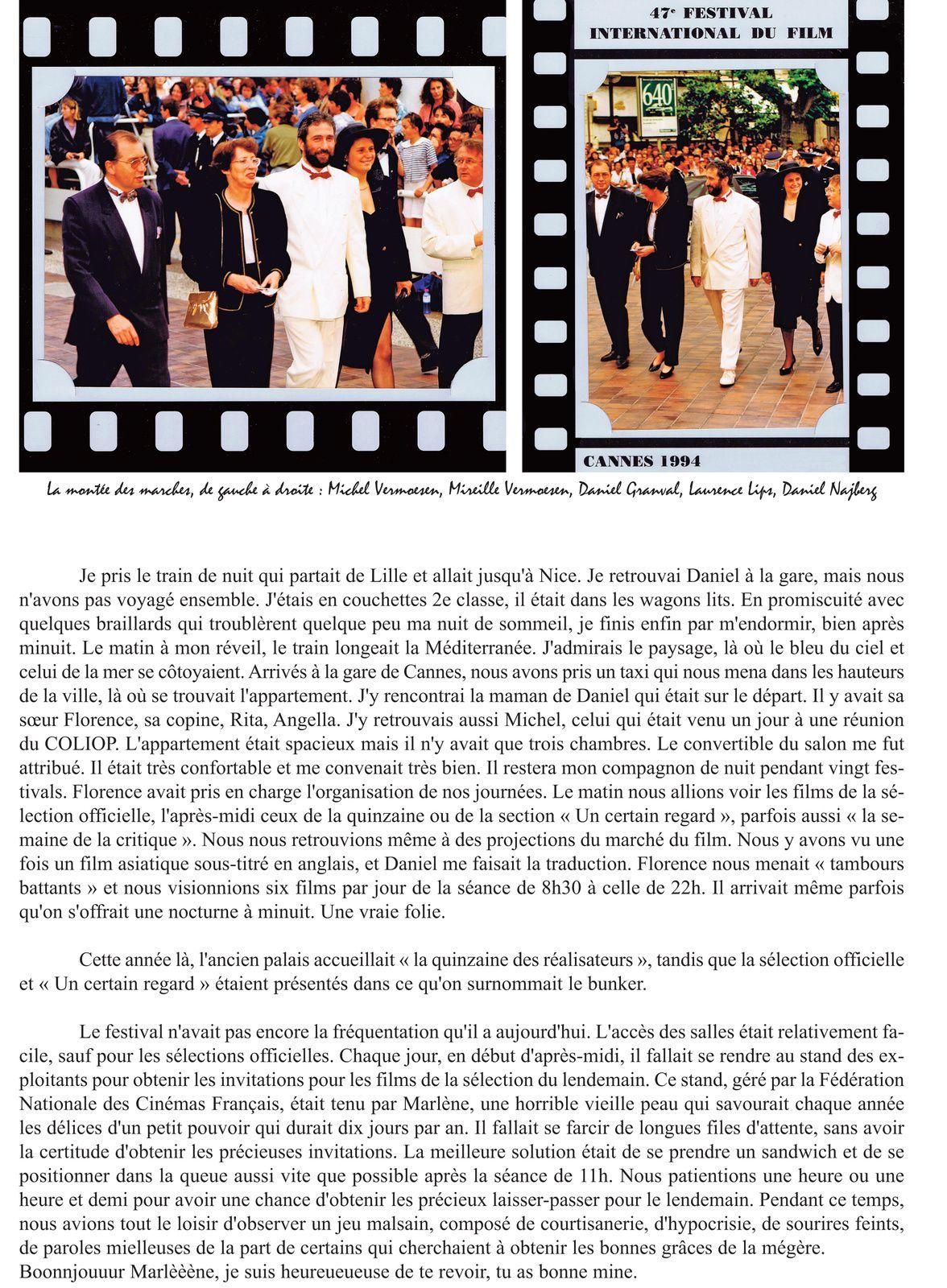 LE CINEMA ET MOI CH.10 Le Festival de Cannes