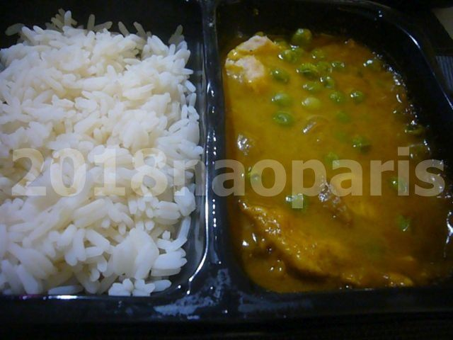 【PARIS】【Marks and Spencer】【curry】中華カレー