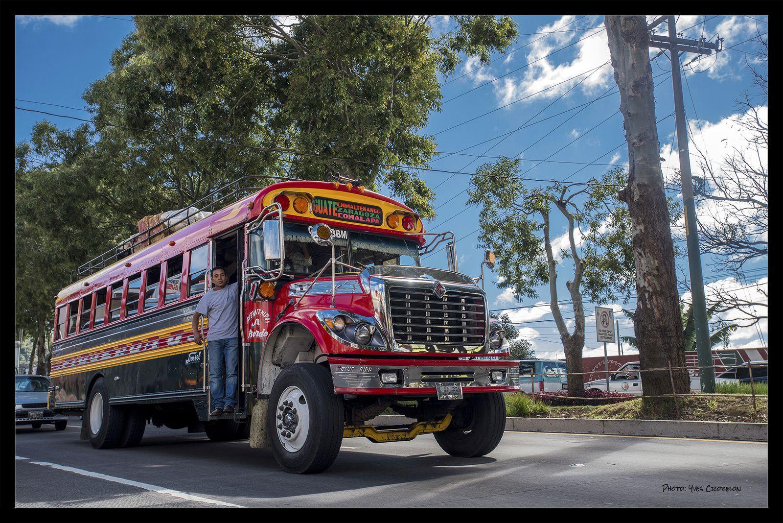 Sur les routes du Guatemala.