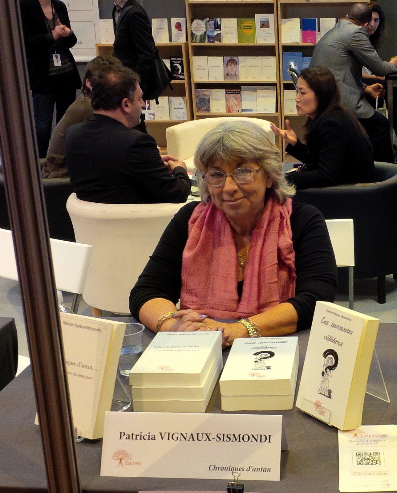 Salon du livre de paris le blog de patricia vignaux for Salon du livre lorient