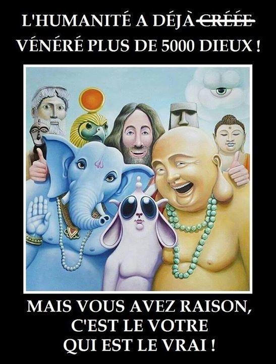 Vive la religion !!!