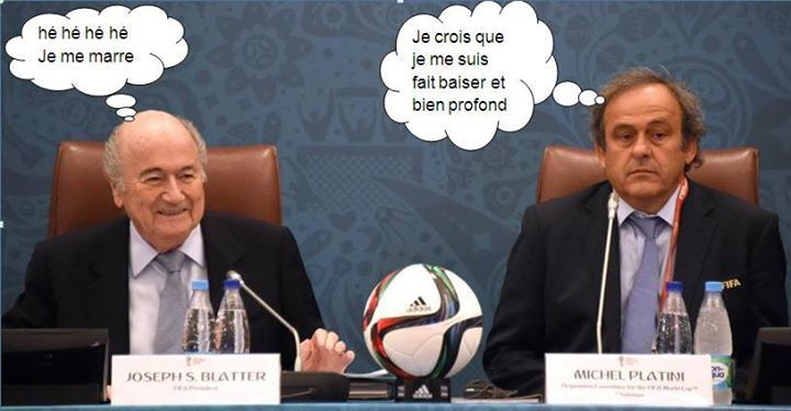 Corruption à la FIFA.