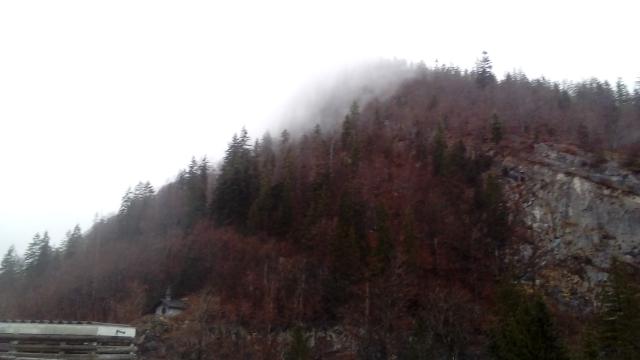 La Clusaz sous les nuages.