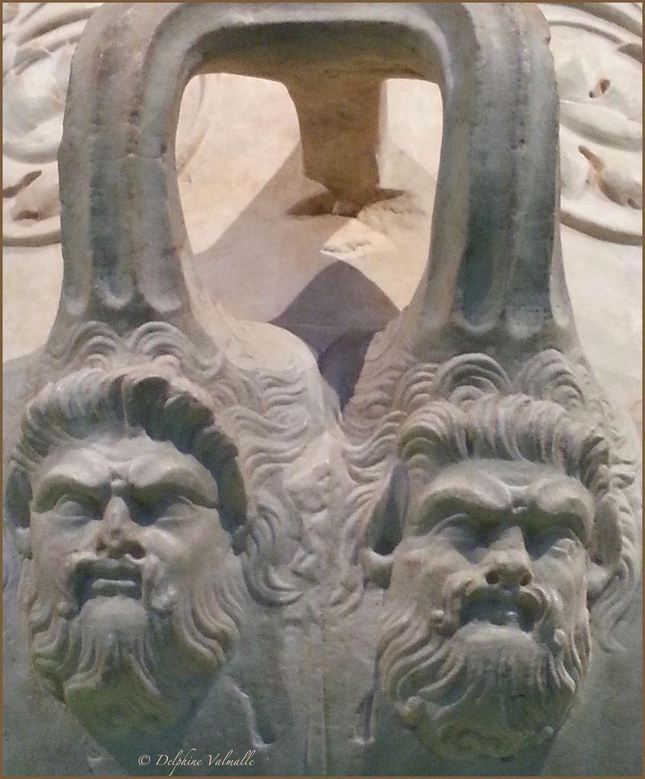 Cratère (détail) - Rome, Musei Capitolini