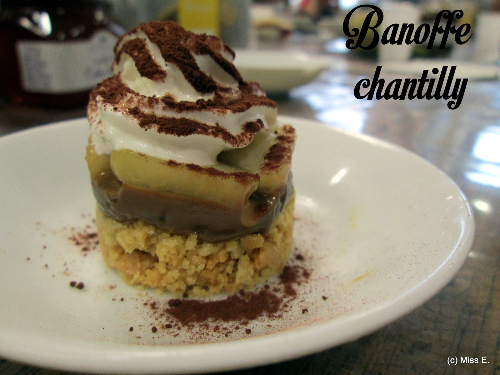 Banoffe-chantilly