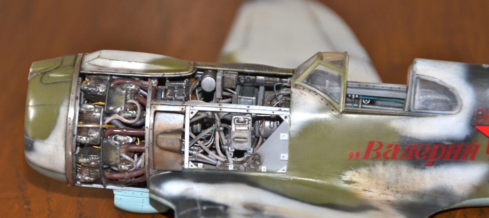 Lavochkin La5 - Montage maquette ZVEZDA au 1/48