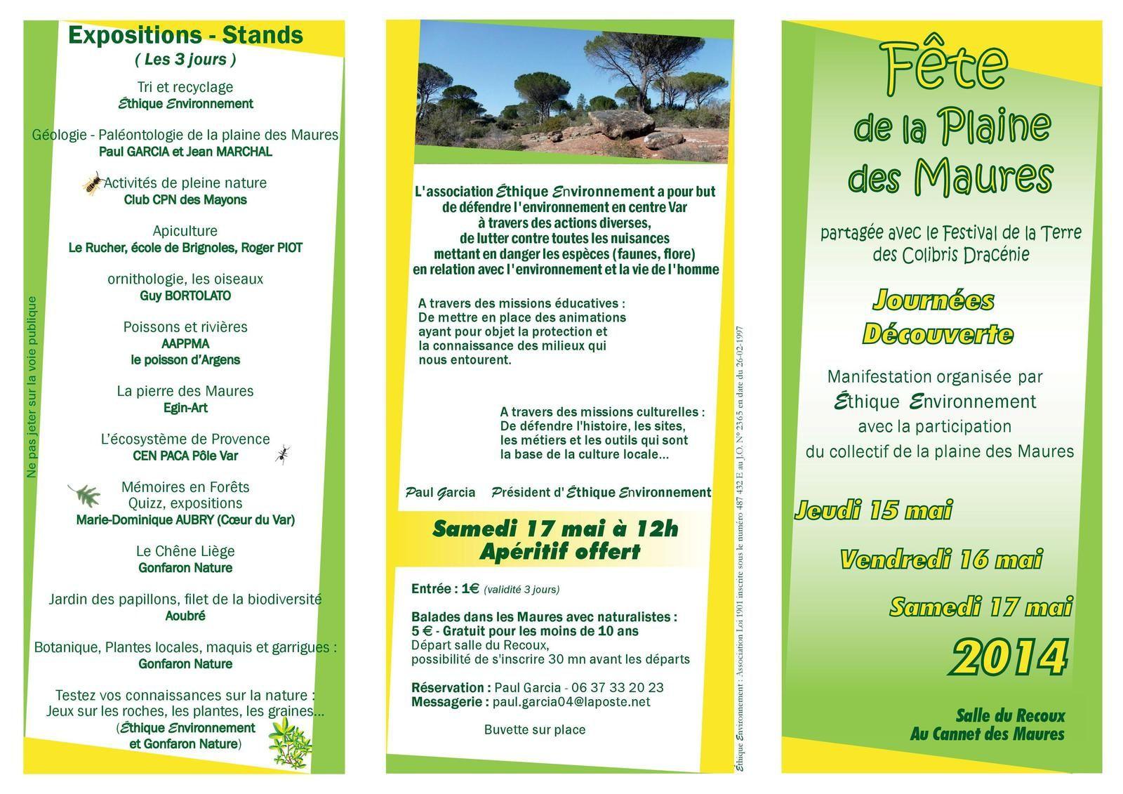 Fête de la Plaine des Maures 2014