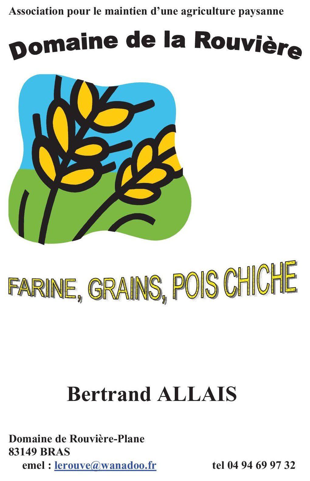 Les farines de Bertrand
