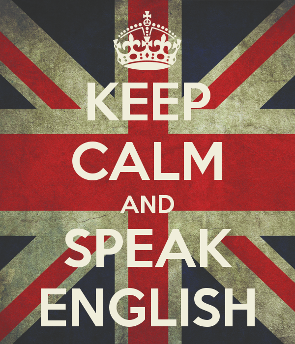 First steps - Keep Calm and Speak English