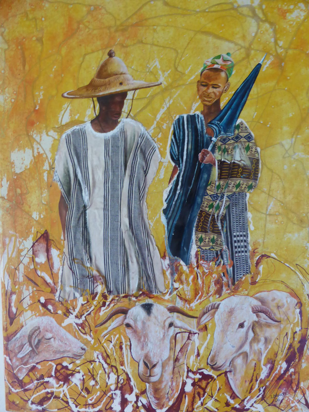 Ibrahima Barry, peintre