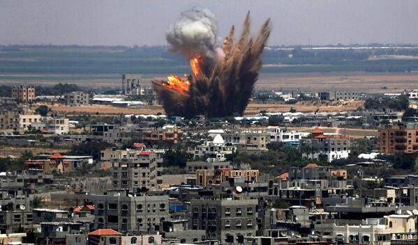 Photo 2 - Bombardements par Israël de Gaza - Juillet 2014