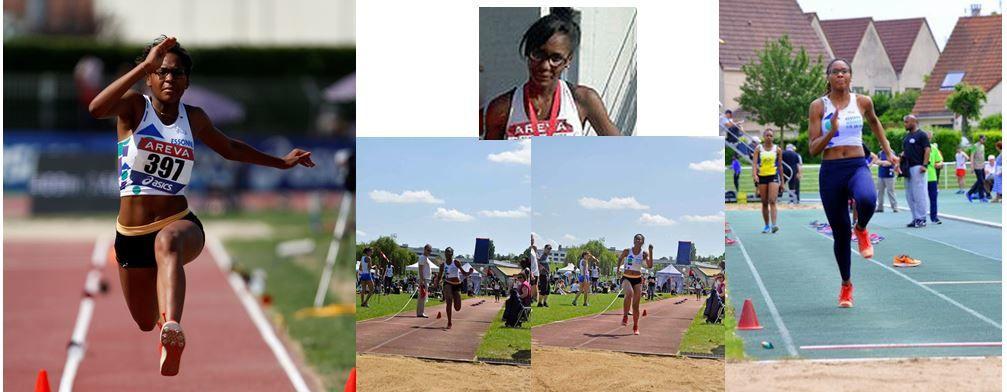 Fiona B. : 12e au triple saut aux Championnats de France Espoirs le 16 juillet 2016