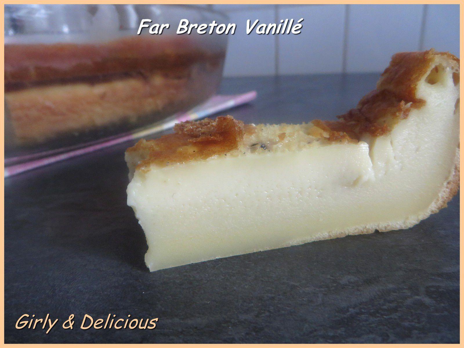 Far Breton vanillé