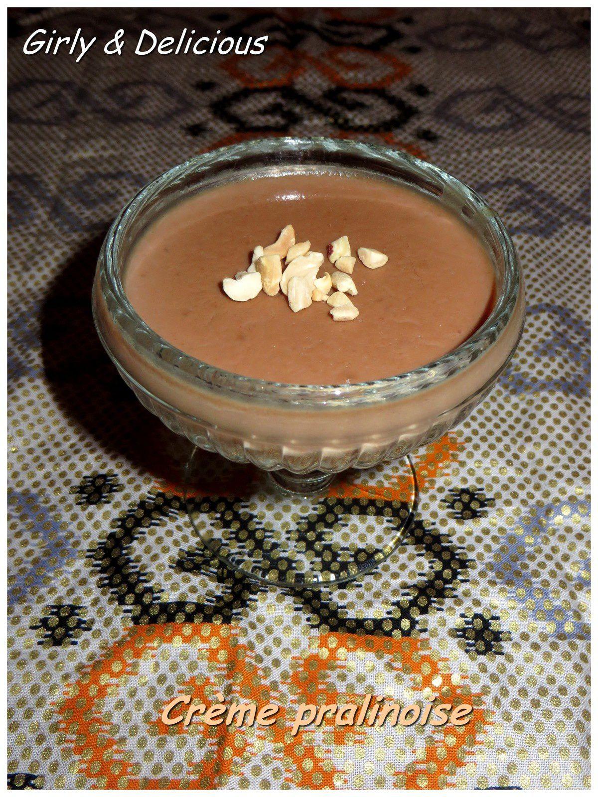 Crème pralinoise