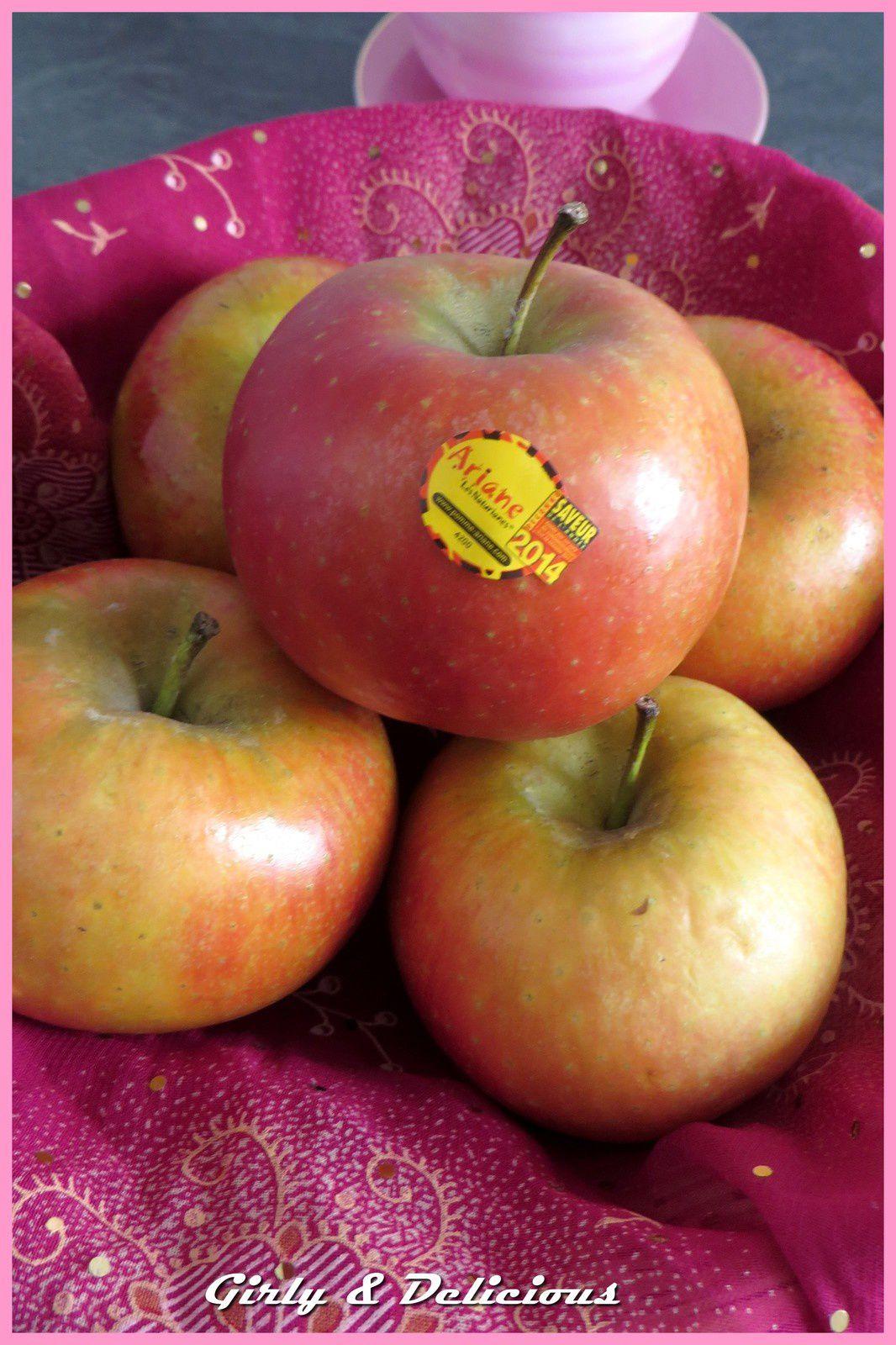 Tarte fine choco-pomme Ariane (concours la pomme Ariane Les Naturianes)