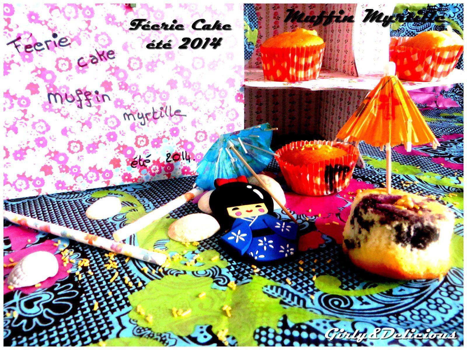 Gâteau au yaourt version Mini Muffins aux Myrtilles