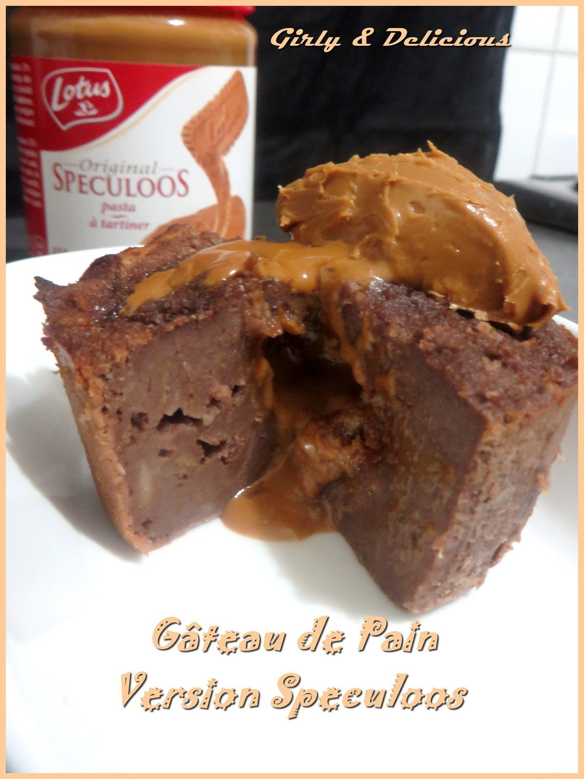 Gâteau de pain + version au Speculoos