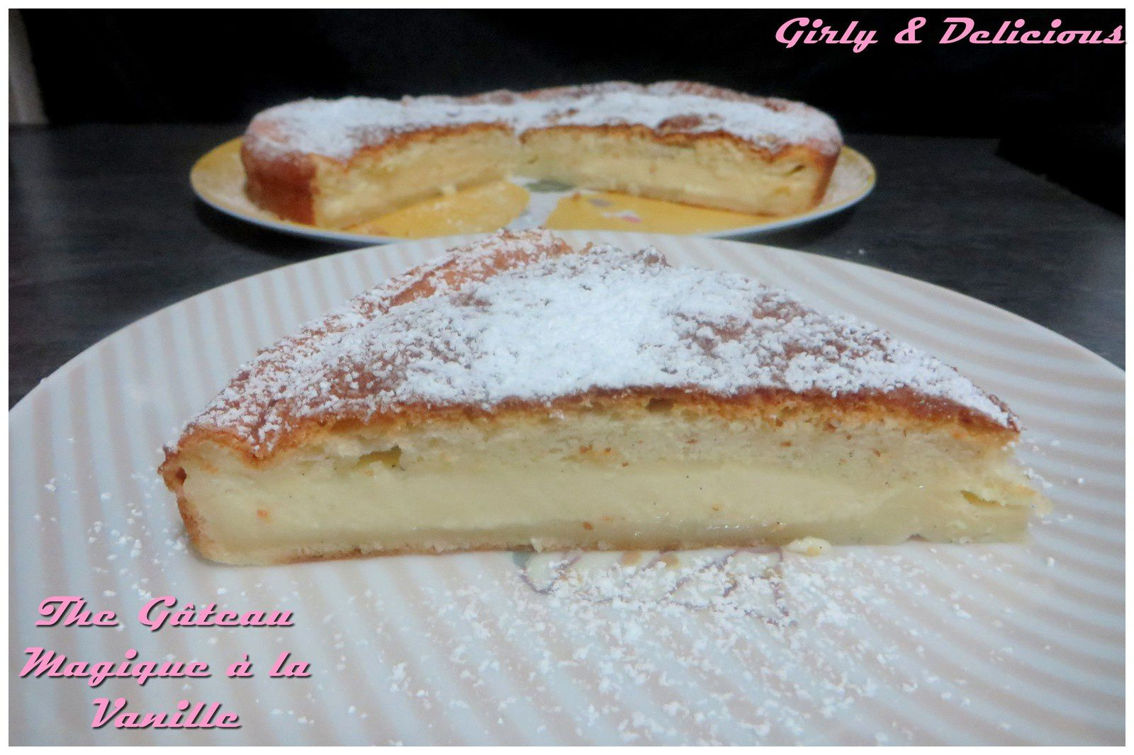The Gâteau magique à la vanille